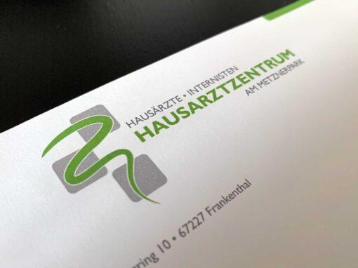 Corporate Design Hausarztzentrum am Metznerpark
